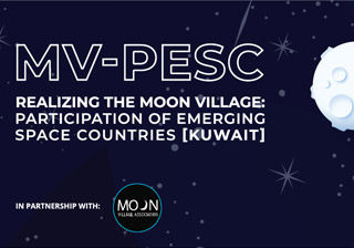 Moon Village: Participation Of Emerging Space Countries - Kuwait