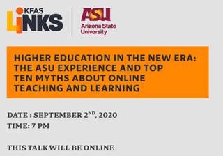Higher Education in the New Era: The ASU Experience and Top Ten Myths About Online Teaching and Learning
