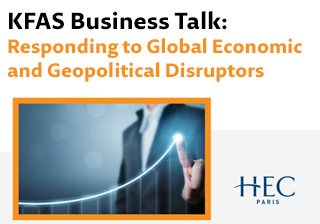 Responding to Global Economic and Geopolitical Disruptors