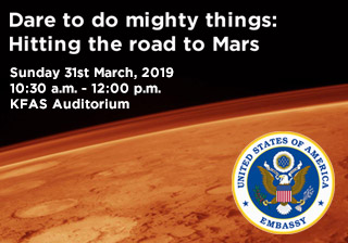 Dare to do mighty things: Hitting the road on Mars