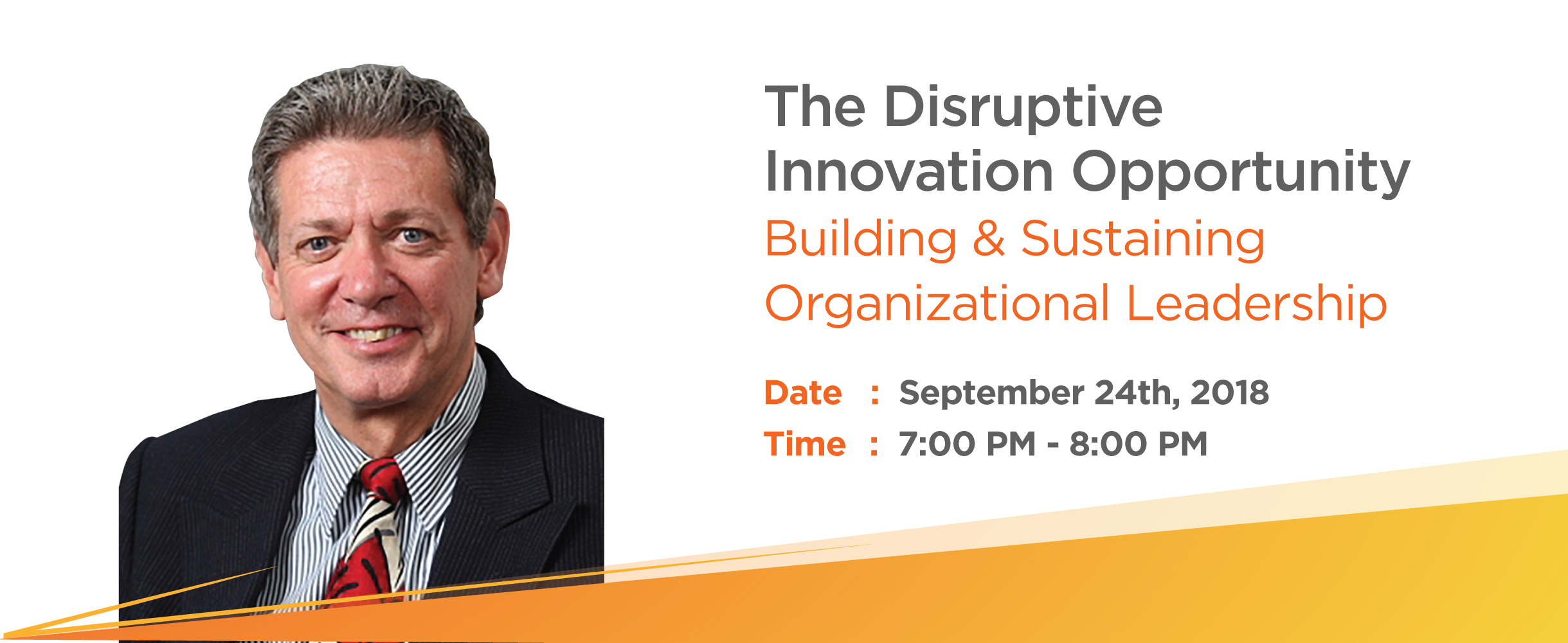 The Disruptive Innovation Opportunity