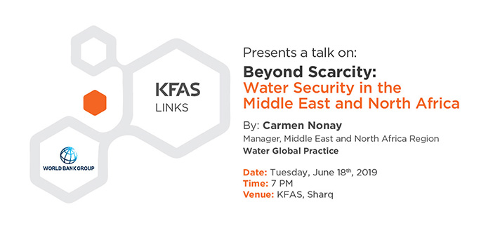 Beyond Scarcity: Water Security in the Middle East and North Africa